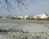 Auzouer en Touraine sous la neige
