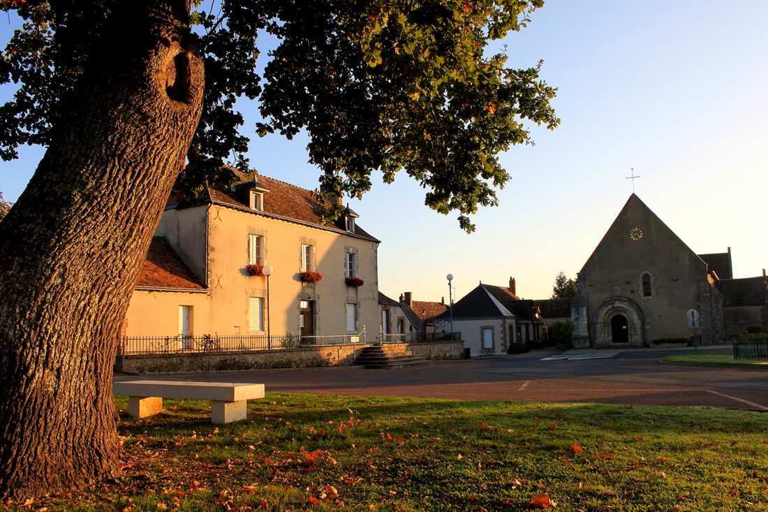 Eglise Auzouer en Touraine
