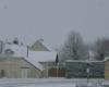 Auzouer-en-Touraine sous la neige