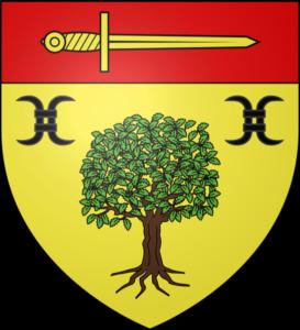 Blason Auzouer en Touraine