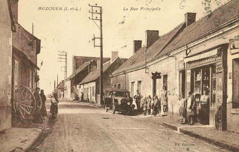 Ville Auzouer en Touraine